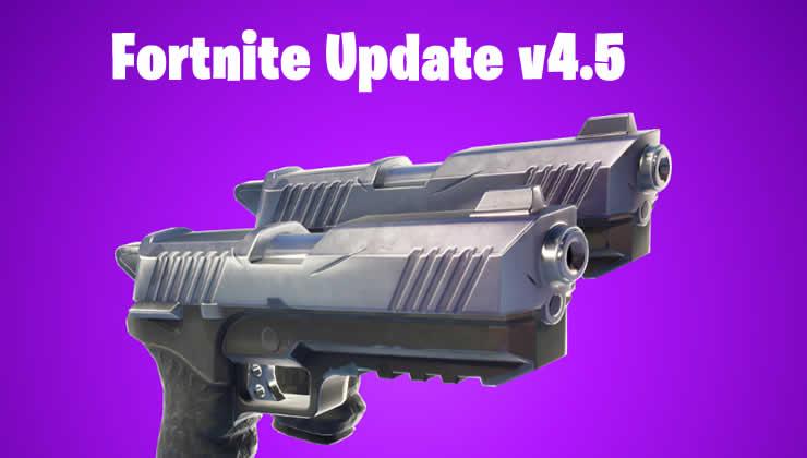Fortnite: Update 4.5 veröffentlicht – Patch Notes zu 1.65