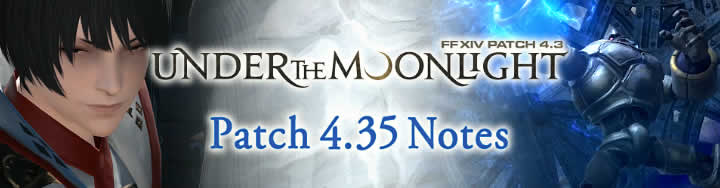 FFXIV Patch Notes 4.35