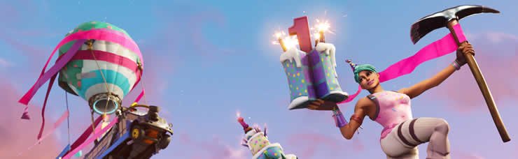 fortnite birthday banner