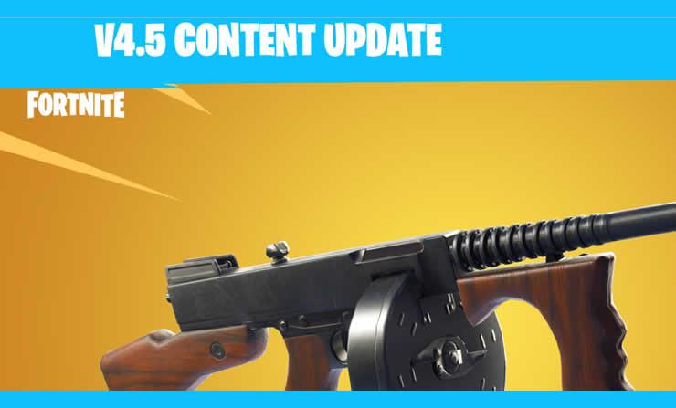 Fortnite: Inhalts-Update 4.5 veröffentlicht – Trommelgewehr und mehr