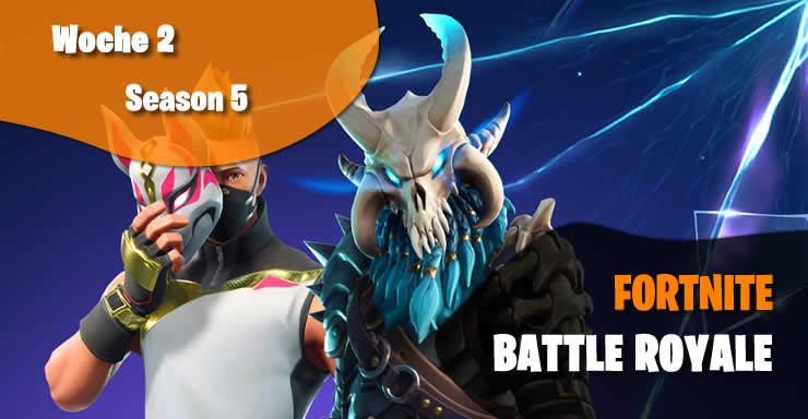 Fortnite Battle Royale: Herausforderungen der Woche 2 verzögert?