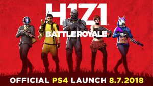 H1Z1 release ps4