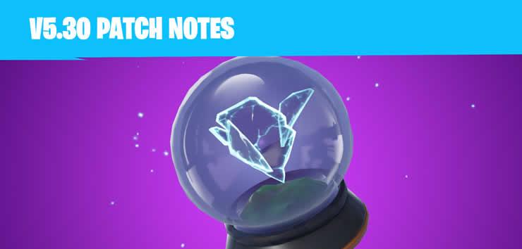 Fortnite Update 5 30 Veroffentlicht Patch Notes 1 73 Verfugbar