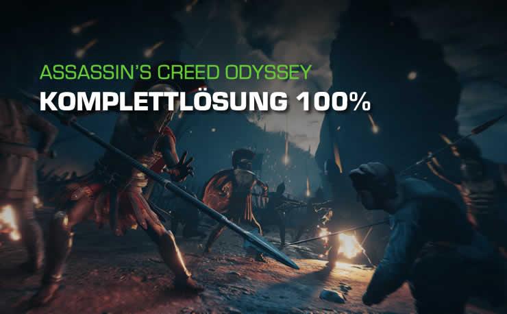 Assassin's Creed Odyssey: Komplettlösung für 100% Fortschritt