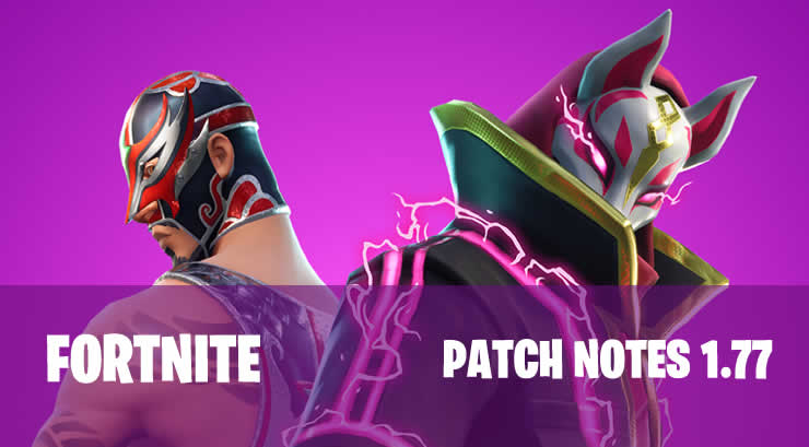 Fortnite – Patch Notes 1.77 verfügbar