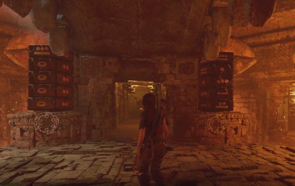 Shadow Of The Tomb Raider Rotierende Stein Säulen Puzzle Pfad Des