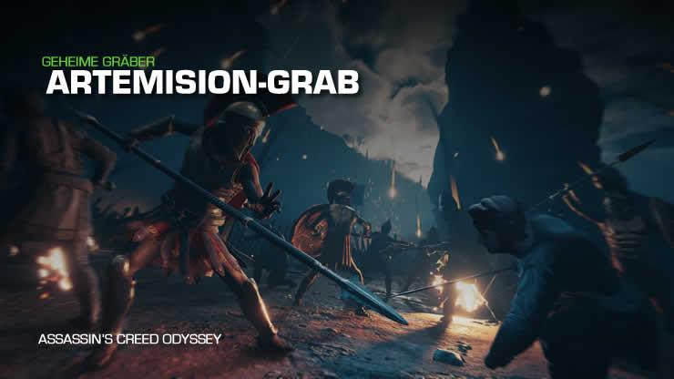 Assassin's Creed Odyssey: Artemision-Grab – Stele Fundort und Lösung