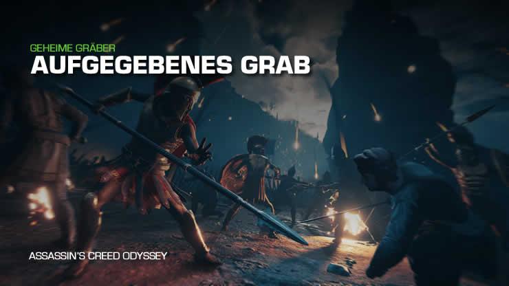 Assassin's Creed Odyssey: Aufgegebenes Grab – Antike Stele finden