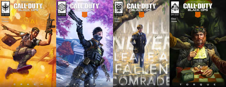 Black Ops 4 Blackout Roster