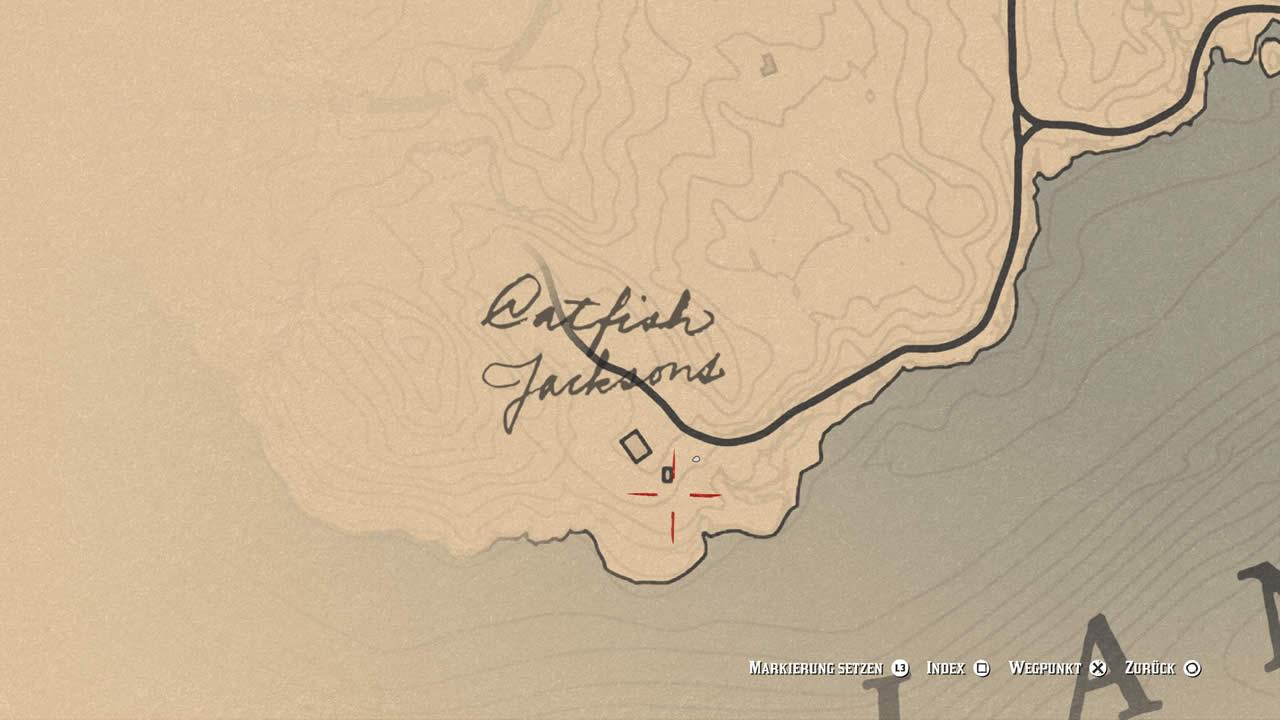 Red Dead Redemption 2 Watsons Blockhutte Karte.Red Dead Redemption 2 Alle Geheimen Hof Verstecke