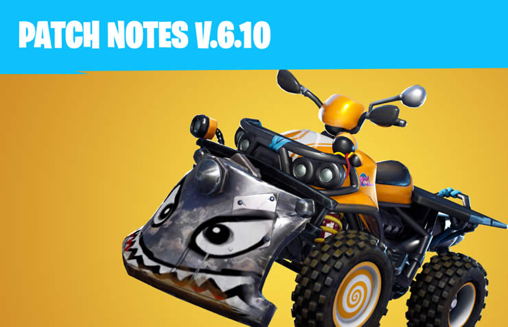 Fortnite: Update 6.10 veröffentlicht – 1.85 Patch Notes