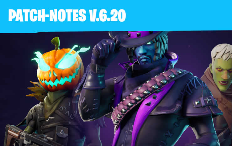 Fortnite: Update 6.2 veröffentlicht – Patch Notes 1.87