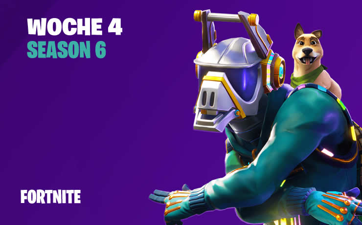 Fortnite: Season 6 Woche 4 – Alle Herausforderungen