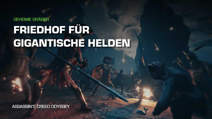 Assassin's Creed Odyssey: Friedhof für gigant …