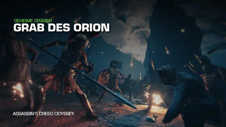 Assassin's Creed Odyssey: Grab des Orion – Stele Fundort und Lösung
