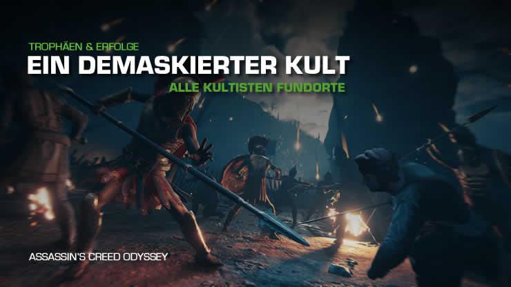 Assassin's Creed Odyssey: Alle Kultisten Fundo …
