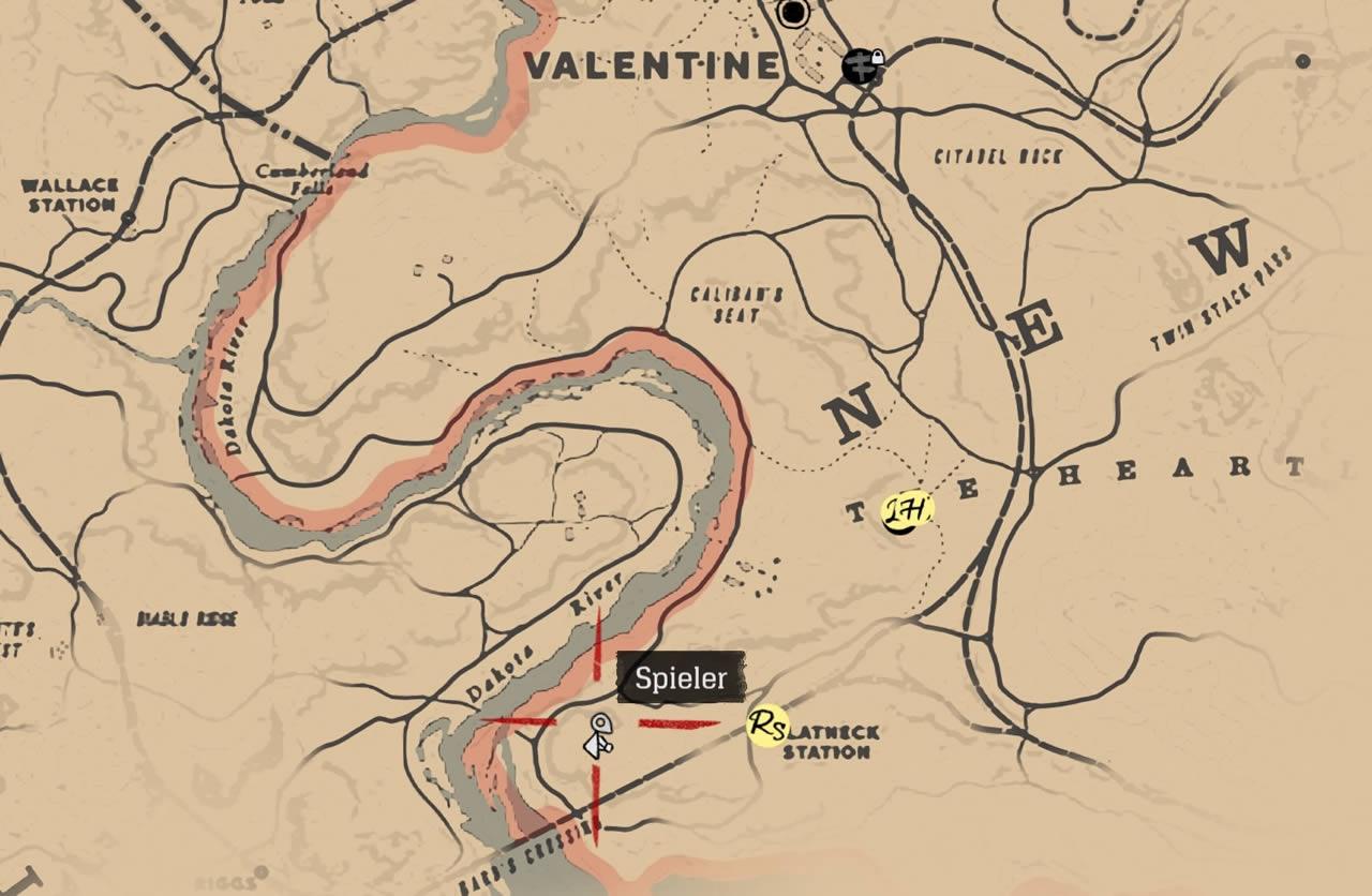 Red Dead Redemption 2: Jack Hall Bande Schatzkarten Fundorte