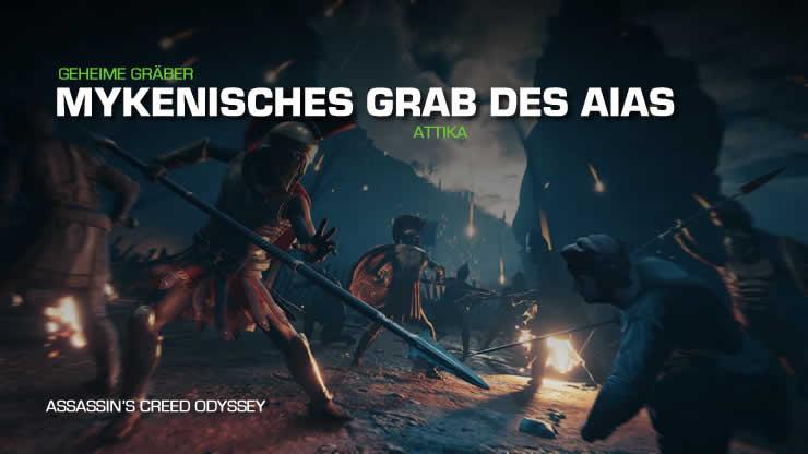Assassin's Creed Odyssey: Mykenisches Grab des …