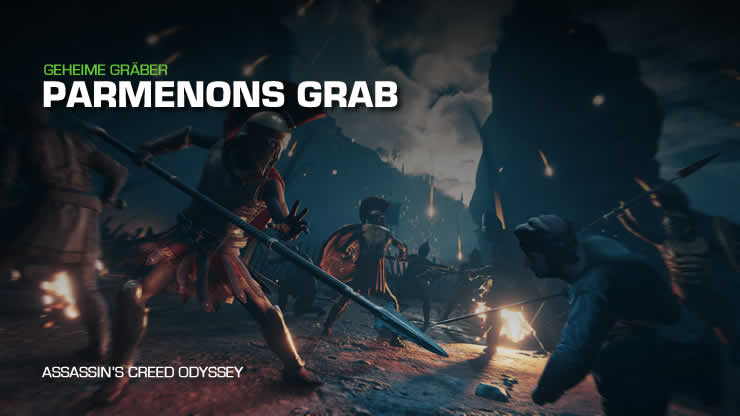 Assassin's Creed Odyssey: Parmenons Grab – Antike Stele finden