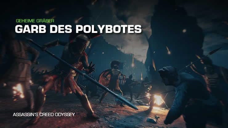 Assassin's Creed Odyssey: Grab des Polybotes – Findet die Antike Stele