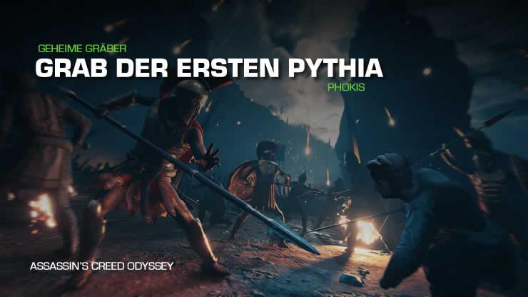 Assassin's Creed Odyssey: Grab der ersten Pyth …