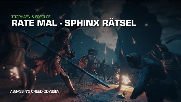 Assassin's Creed Odyssey: Sphinx Rätsel &#821 …