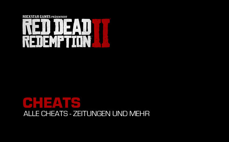 Red Dead Redemption 2 – Cheats