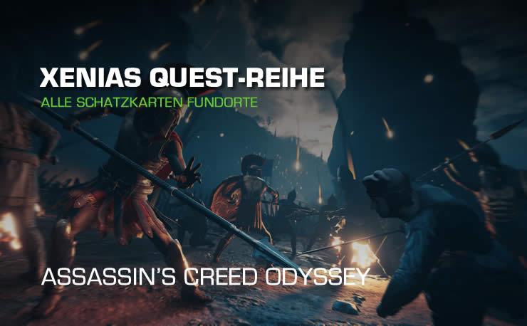 Assassins Creed Odyssey: Xenias Schatzkarten Fundort …