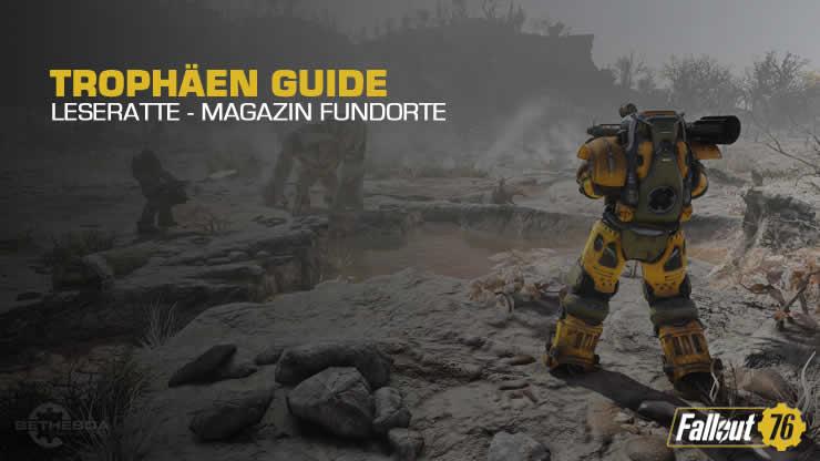 Fallout 76: Leseratte – Alle Fundorte der Magazine