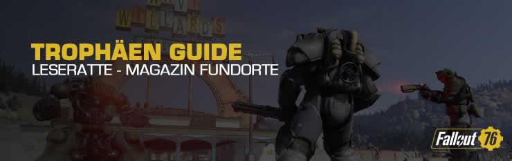 Fallout 76 magazine finden