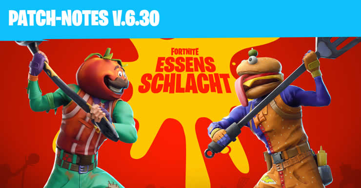 fortnite update 6 30 - fortnite schneller abbauen