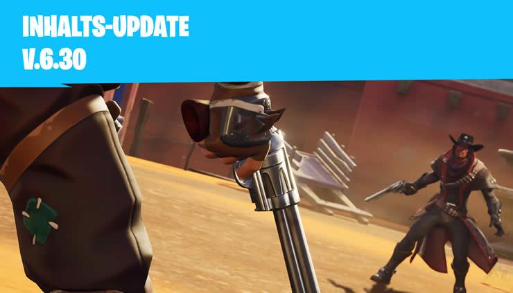 Fortnite Inhalts Update 6 30 Veröffentlicht Patch Notes