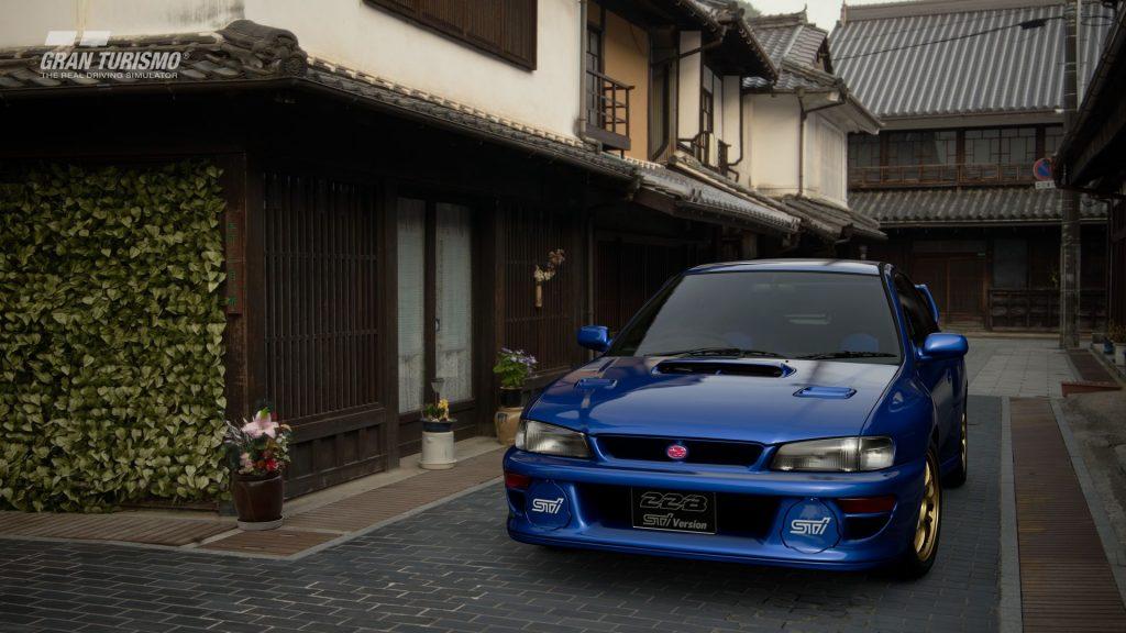 Subaru Impreza 22B-STi Version