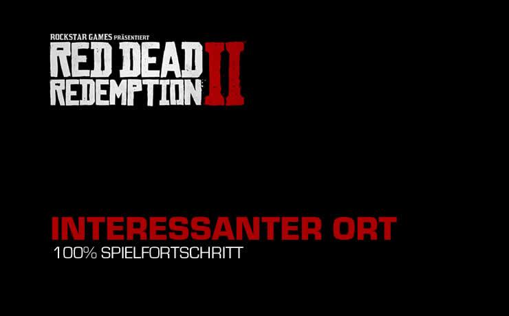 Red Dead Redemption 2: Interessanter Ort Standort – Mysteriöses Heim