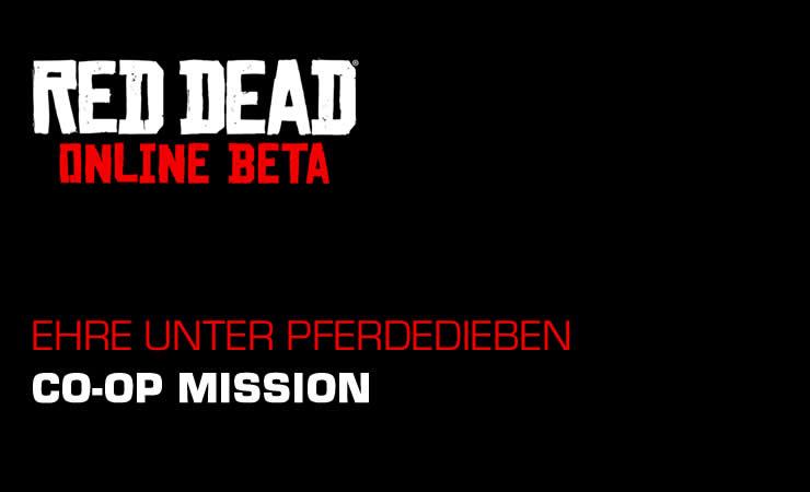 Red Dead Online: Ehre unter Pferdedieben