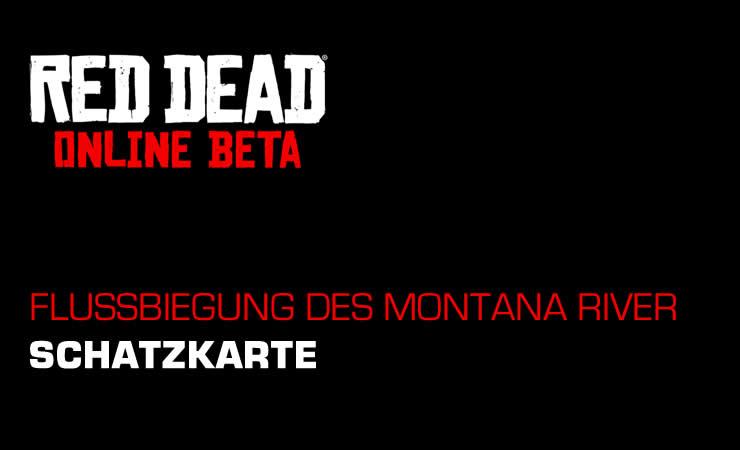 Red Dead Online: Schatzkarte – Flussbiegung des Montana River