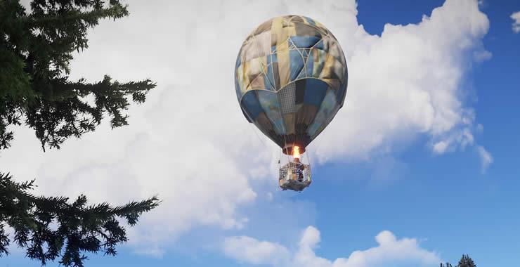 RUST Balloon Update