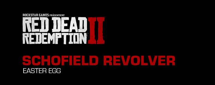 Schofield Revolver RDR2