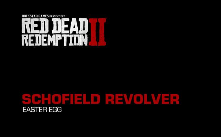 Red Dead Redemption 2 – Findet den versteckten Schofield Revolver
