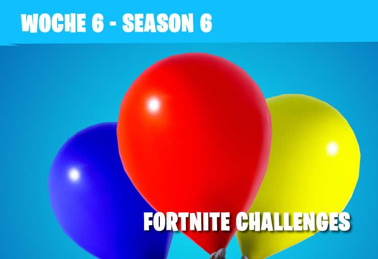 Fortnite: Season 6 Woche 6 – Alle Herausforderungen
