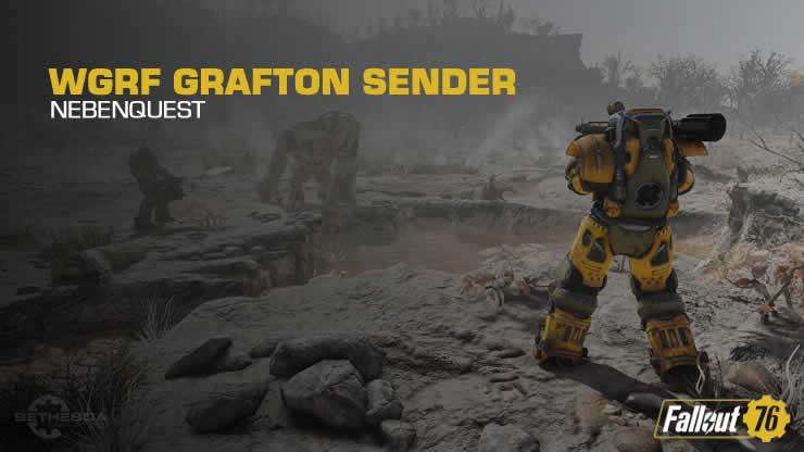 Fallout 76: Schalte den WGRF Grafton-Sender ein – Nebenquest
