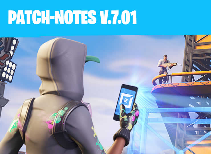Fortnite: Patch Notes 1.96 – Update 7.01 veröffentlicht