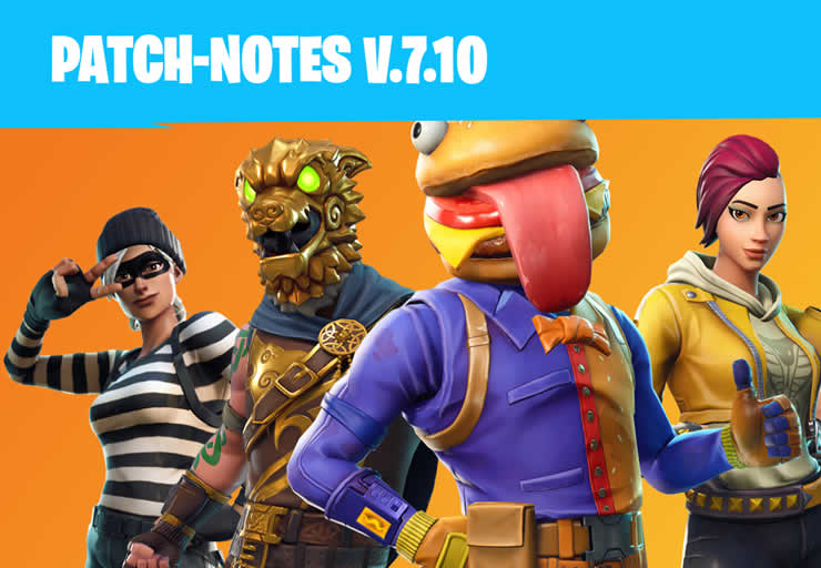 Fortnite Patch Notes 1.97
