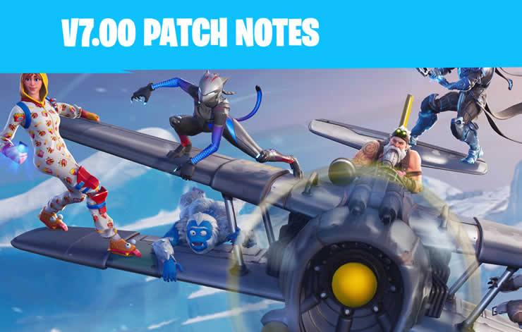 Fortnite: Patch Notes 1.94 veröffentlicht – Update 7.00