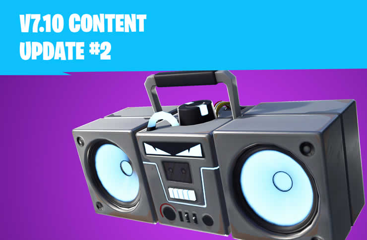 Fortnite: 7.10 Update 2 – Patch Notes 30 Dezember
