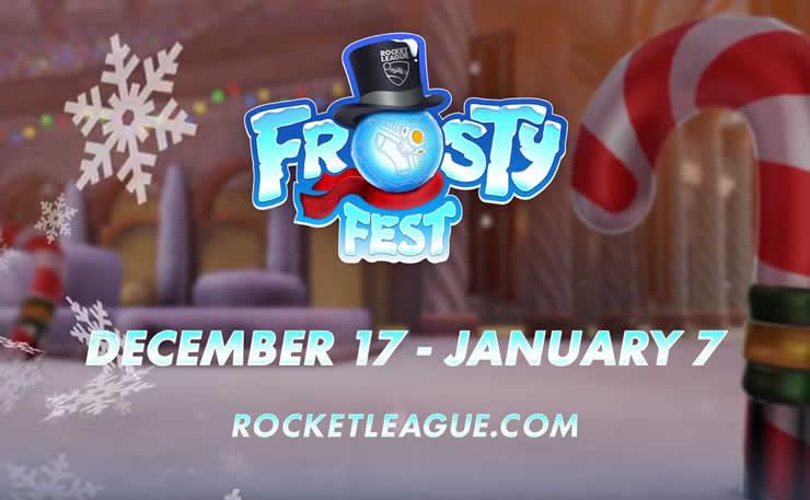 Rocket League: Frosty Fest beginnt heute