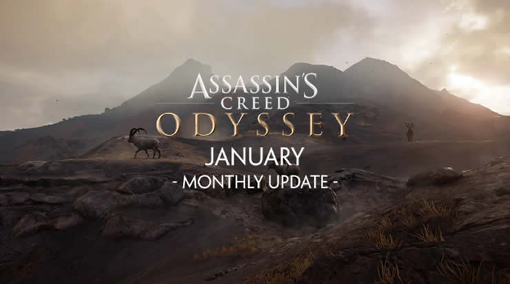 Assassin's Creed Odyssey: Januar Update – Patch 1.12-1.13
