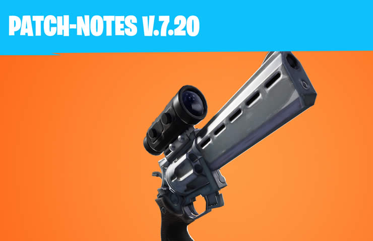 fortnite update 7.2 patch notes