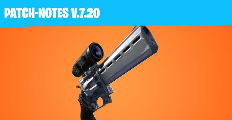 fortnite update 7.2
