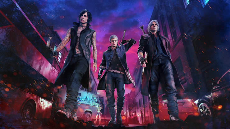 Devil May Cry 5 Update Version 1.07 Patch Notes